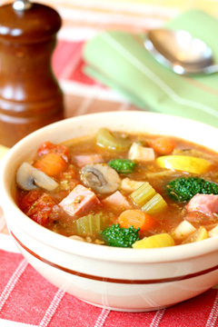 Hearty Ham Soup